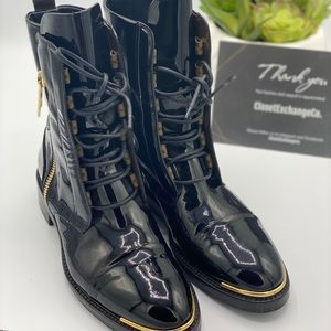 Louis Vuitton military-inspired style Boot